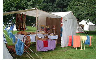 The Mulberry Dyer Stall